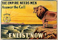The Empire Needs  Men – Answer the Call.