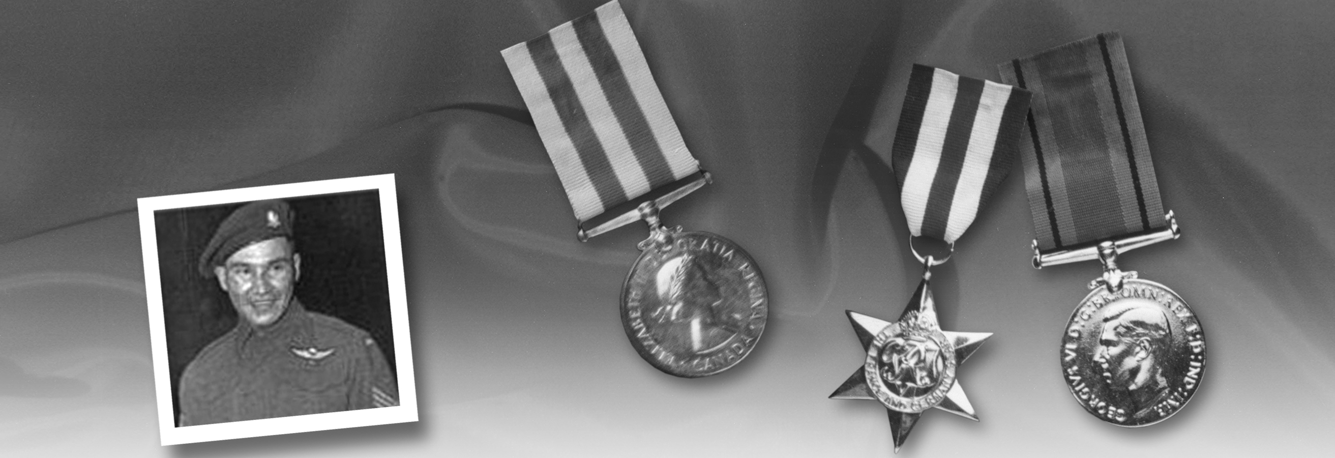 Sgt. Tommy Prince with Military Medal which he received during an investiture at Buckingham Palace. 12 February 1945 / London, England.