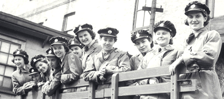 <abbr title='Royal Canadian Air Force'>RCAF</abbr> Women's Division.